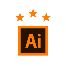 Illustrator advanced ikona