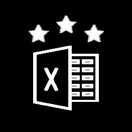 Excel advanced ikona