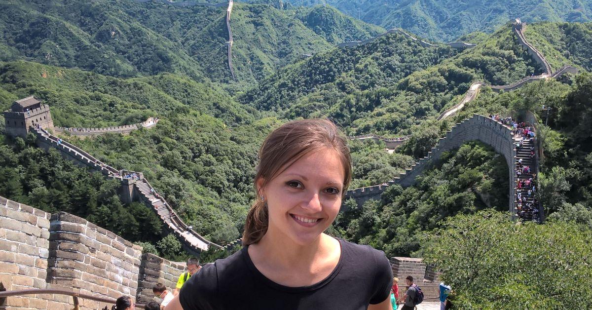 Veľký Čínsky múr, Peking, Čína 2016 - výlet počas konferencie softvérových inžinierov.
