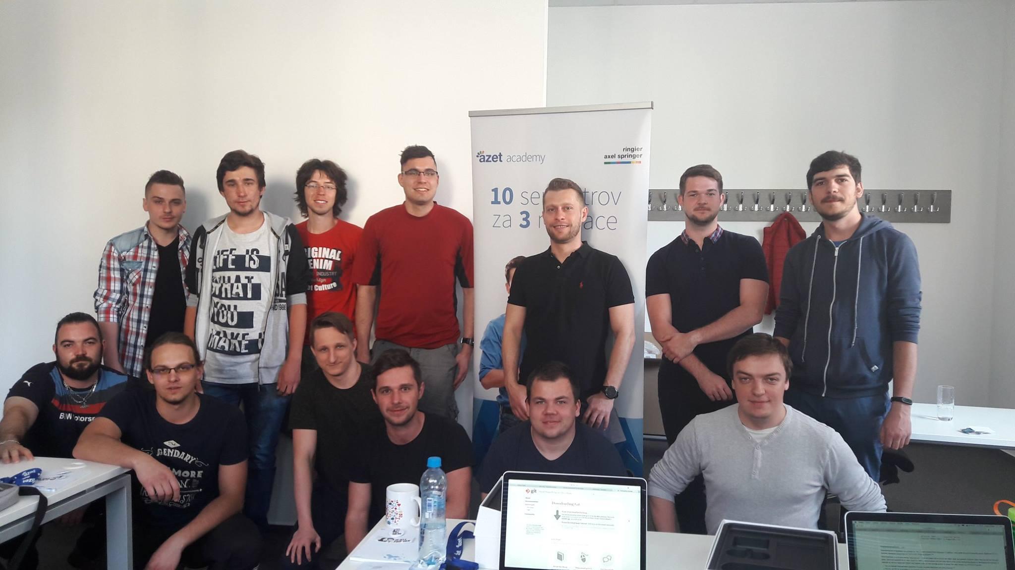 Účastníci Azet academy