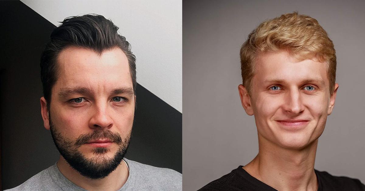 Ľudovíť a Michal, lektori Learn2Code