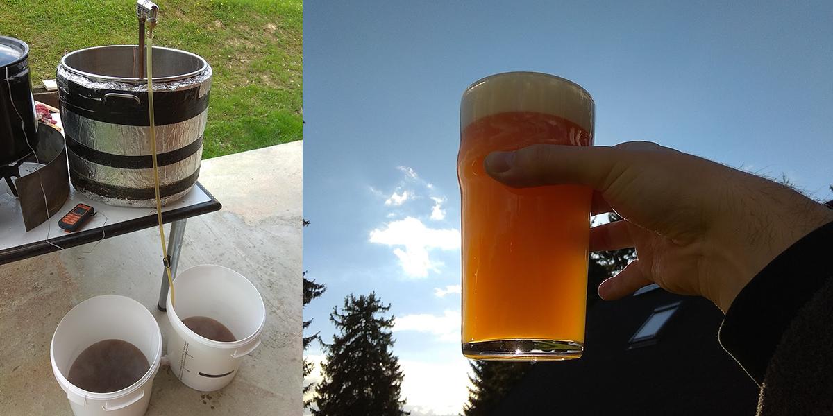 Milan vo voľnom čase rád varí pivo